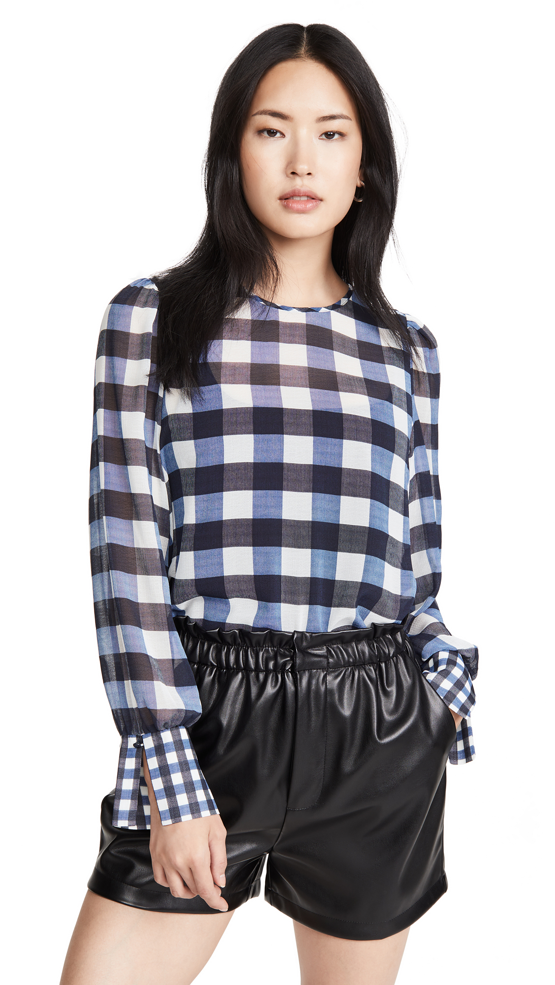 Scotch & Soda/Maison Scotch Checked Top - 30% Off Sale