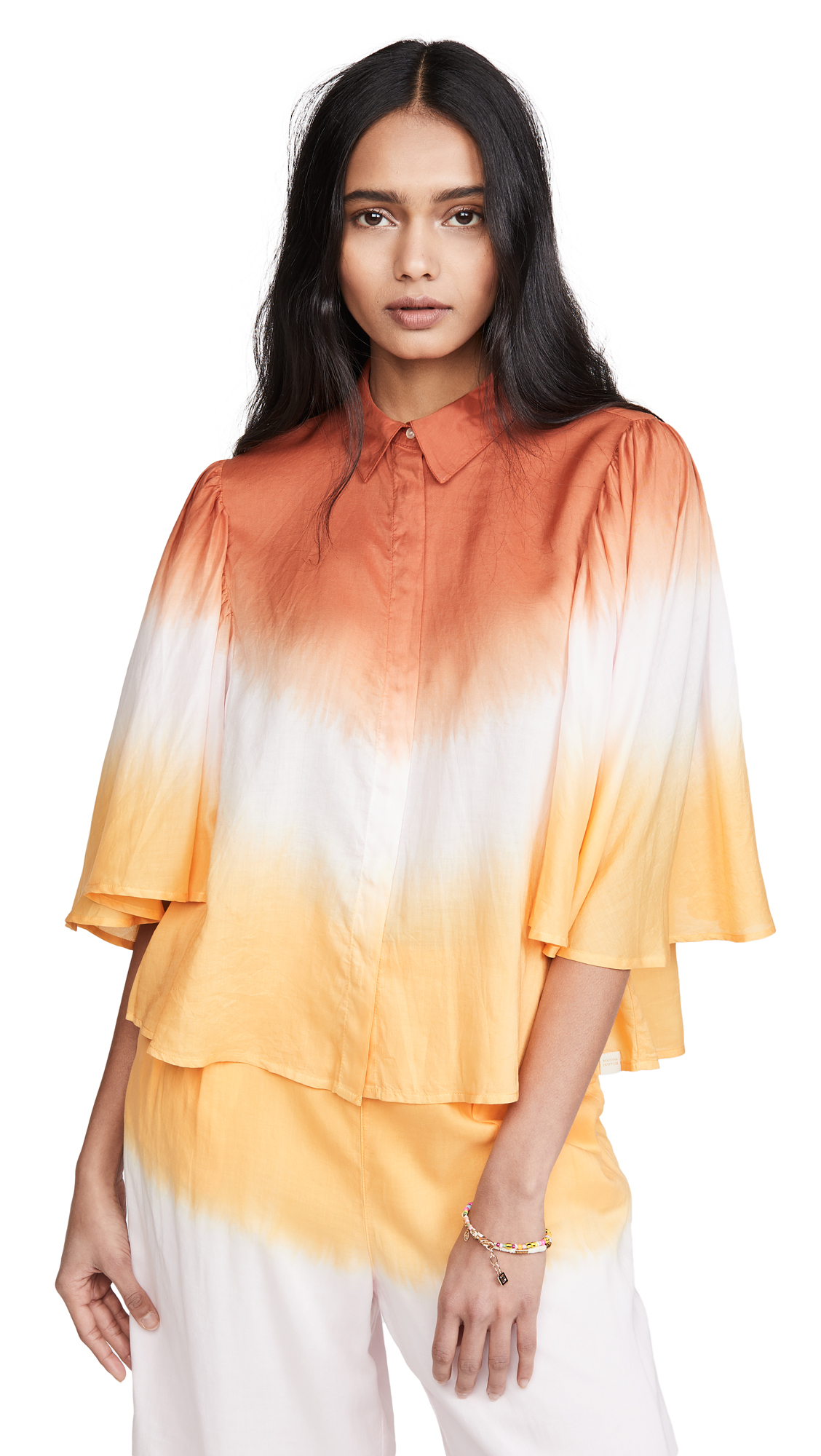 Scotch & Soda/Maison Scotch Ombre Top - 40% Off Sale
