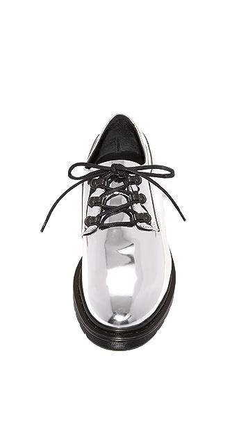 MM6 Ботинки на шнурках