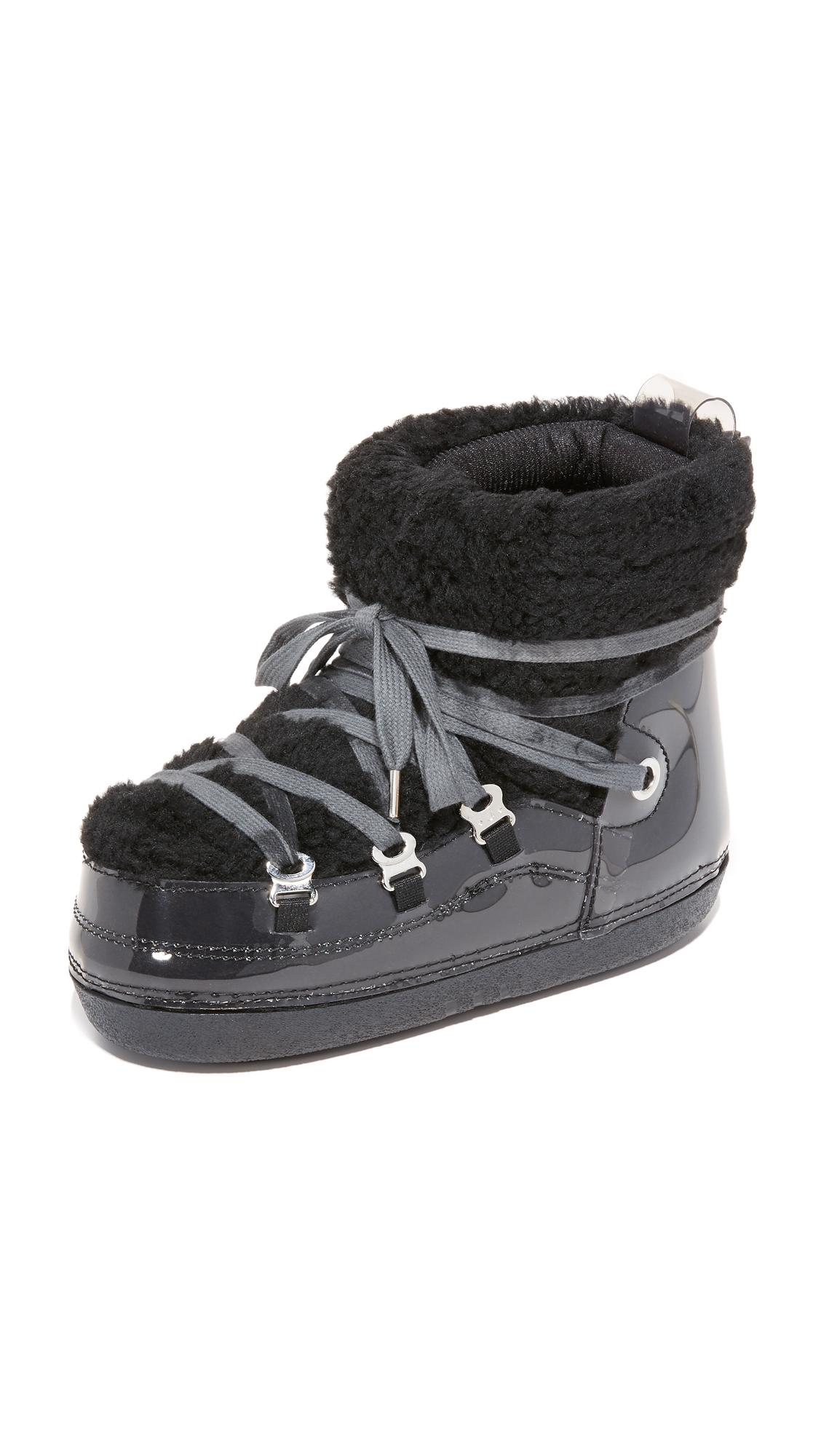 Mm6 Eskimo Sneaker Booties - Black/Fume