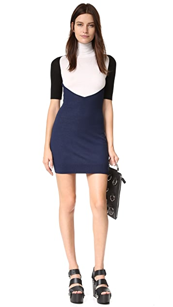 MM6 Colorblock Dress