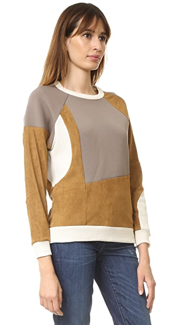 MM6 Patchwork Sweatshirt