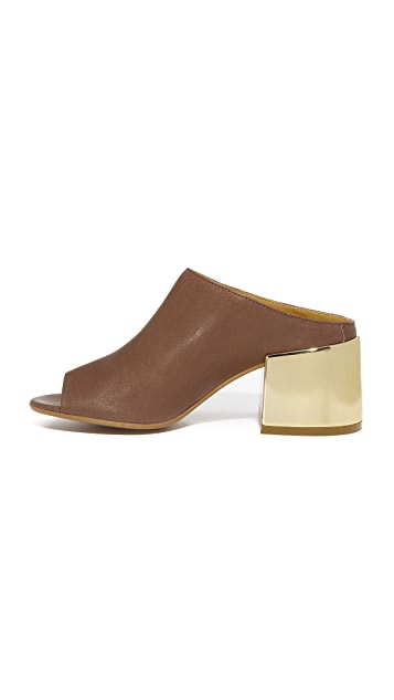 MM6 Open Toe Mules