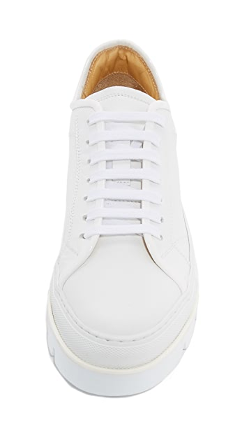 MM6 Lace Up Platform Sneakers