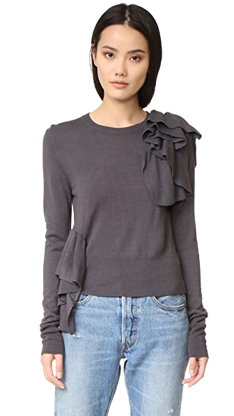 MM6 Ruffle Sweater