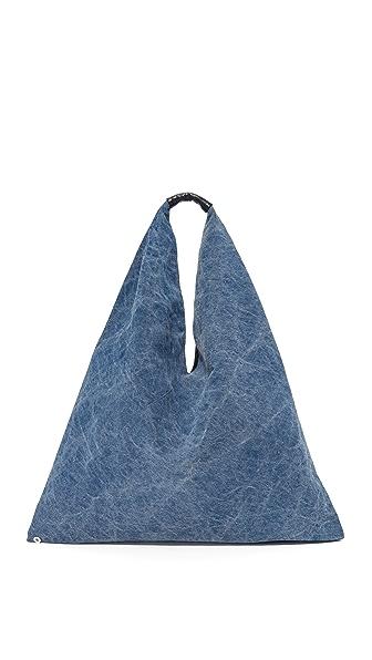 MM6 Denim Hobo Bag