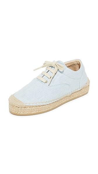 MM6 Espadrille Sneakers - Light Blue