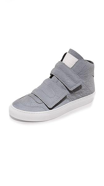 MM6 Velcro High Top Sneakers