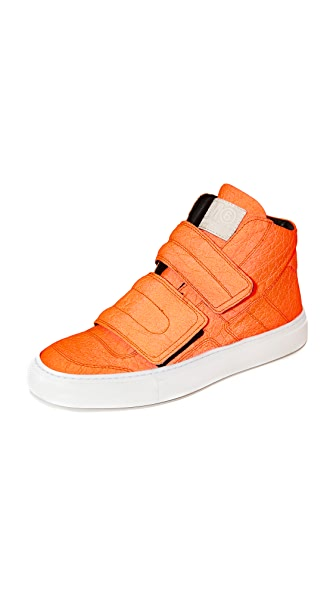 MM6 Velcro High Top Sneakers