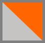 Grey + Orange