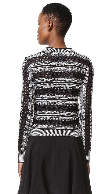 Maiyet Long Sleeve Crew Neck Sweater