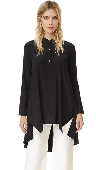 Maiyet High / Low Caftan Shirt