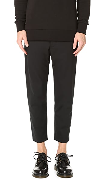 Matthew Miller Marlboro Cropped Trousers