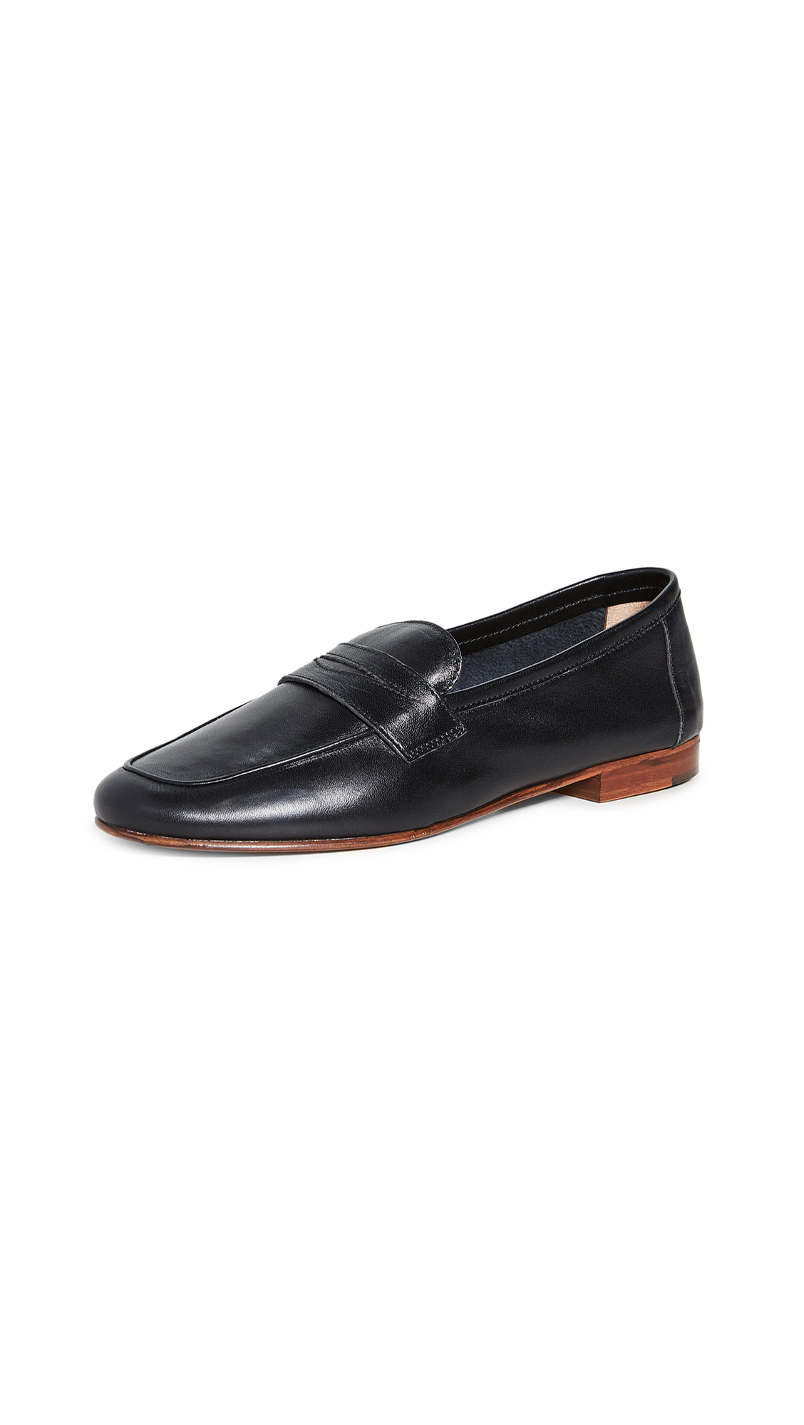 Buy Mansur Gavriel Classic Loafers online, shop Mansur Gavriel