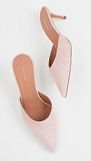 Mansur Gavriel 新颖便鞋跟穆勒鞋