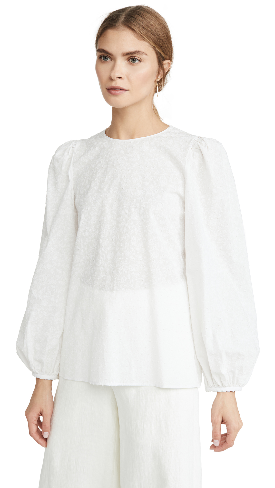 Buy Mansur Gavriel online - photo of Mansur Gavriel Voluminous Sleeve Top