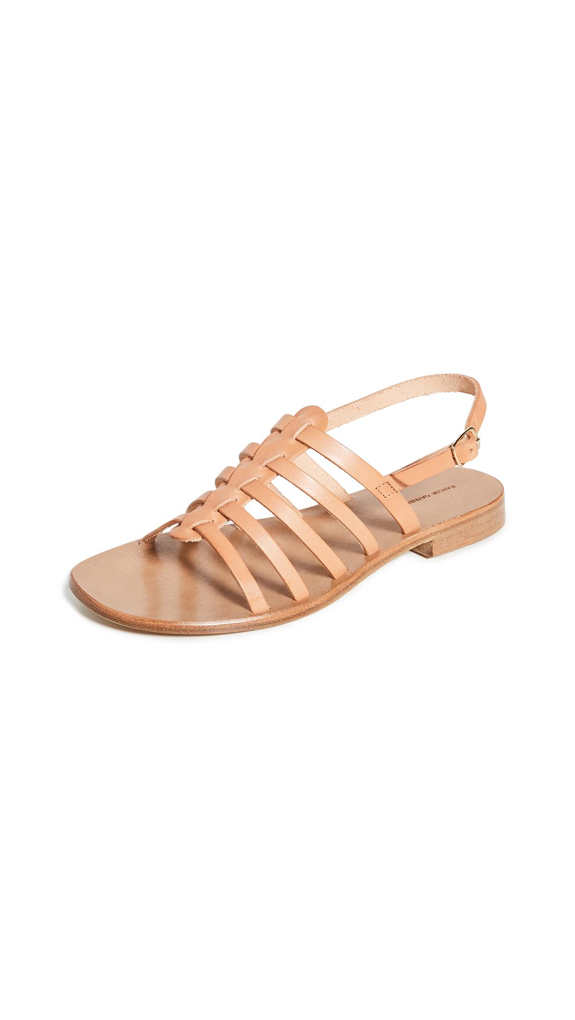 Buy Mansur Gavriel Campania Fino Sandals online, shop Mansur Gavriel