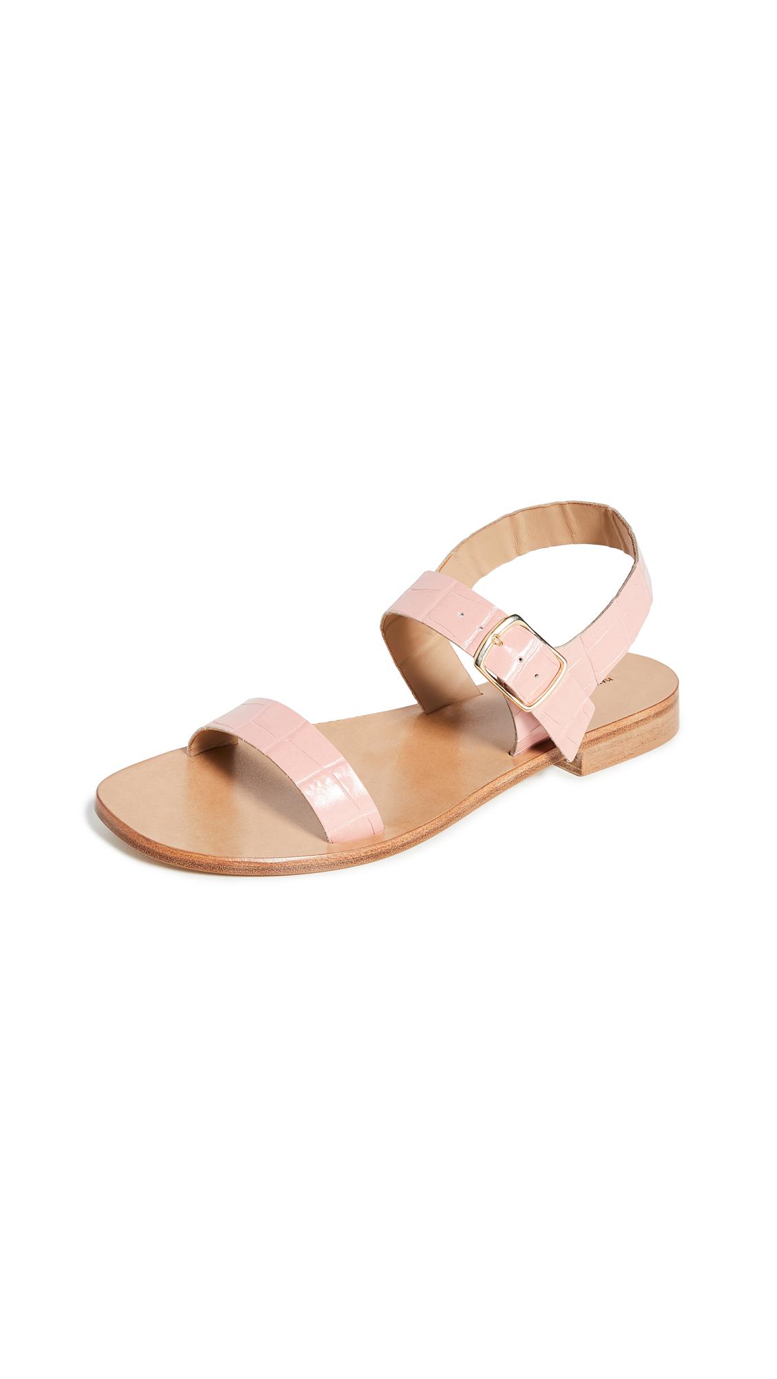 Mansur Gavriel Buckle Sandals - 50% Off Sale