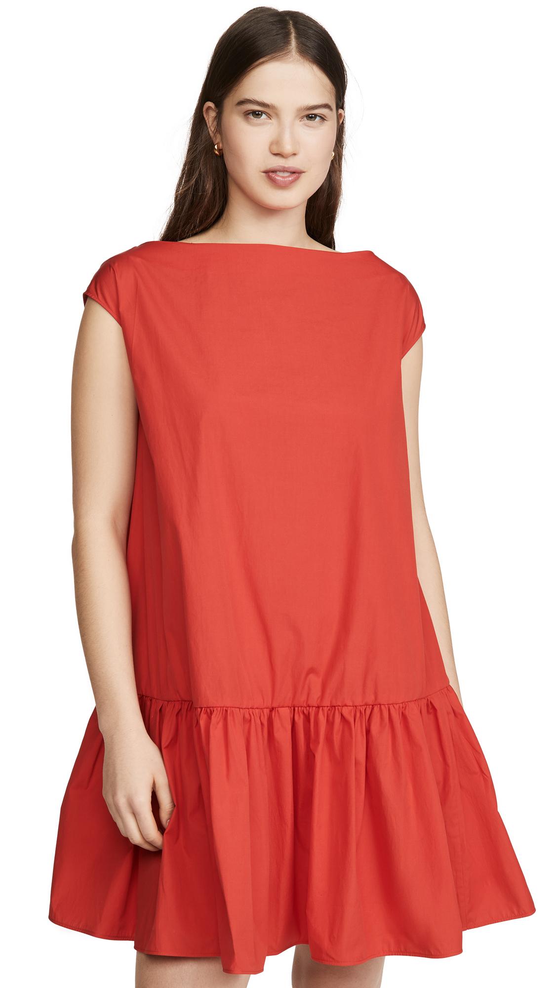 Buy Mansur Gavriel Ruched Mini Dress online beautiful Mansur Gavriel Clothing, Dresses