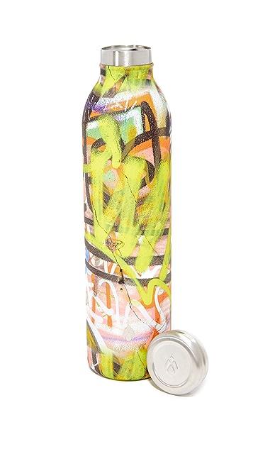Manna 20oz Retro Air Graffiti Water Bottle