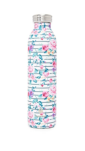 Manna 20oz Retro Air Floral Water Bottle