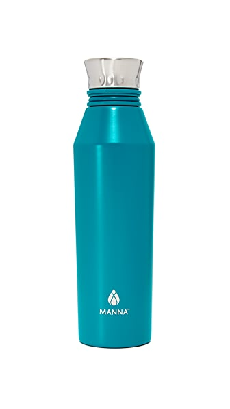 Manna 18oz Haute Water Bottle - Bright Blue