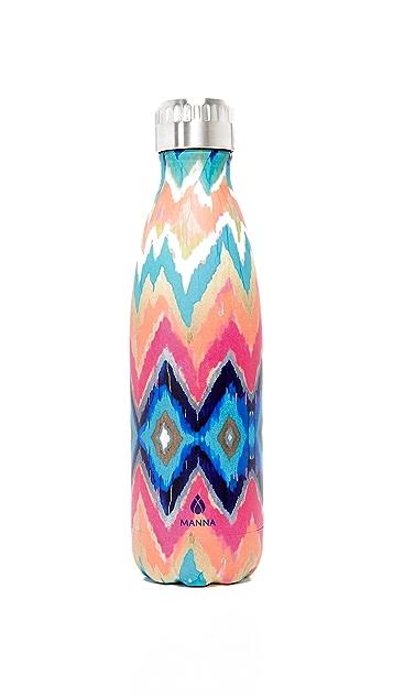 Manna 17oz Vogue Ikat Water Bottle