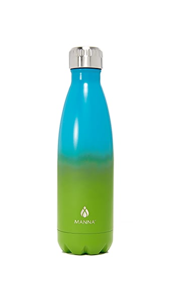 Manna 17oz Vogue Double Ombre Water Bottle - Green Multi