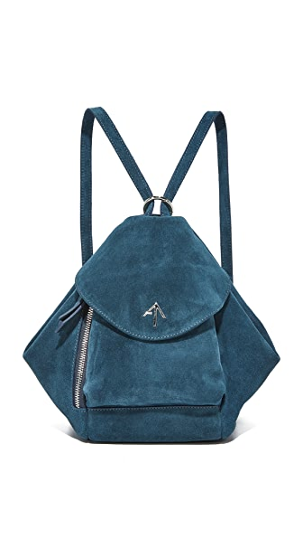MANU Atelier Mini Fernweh Convertible Backpack - Pavone