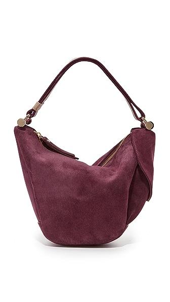 MANU Atelier Micro Fernweh Convertible Bag - Burgundy