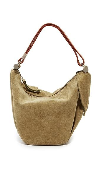 MANU Atelier Micro Fernweh Convertible Bag - Khaki