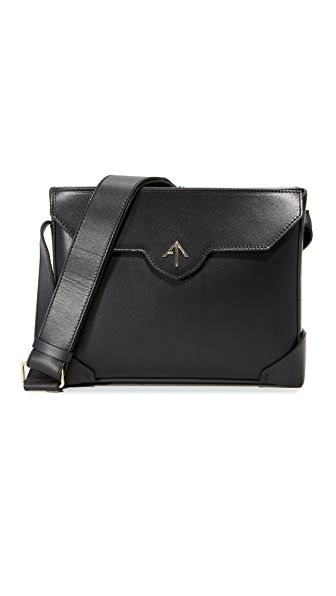 MANU Atelier Bold Shoulder Bag - Black