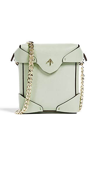 MANU Atelier Micro Pristine Box Bag with Chain at Shopbop