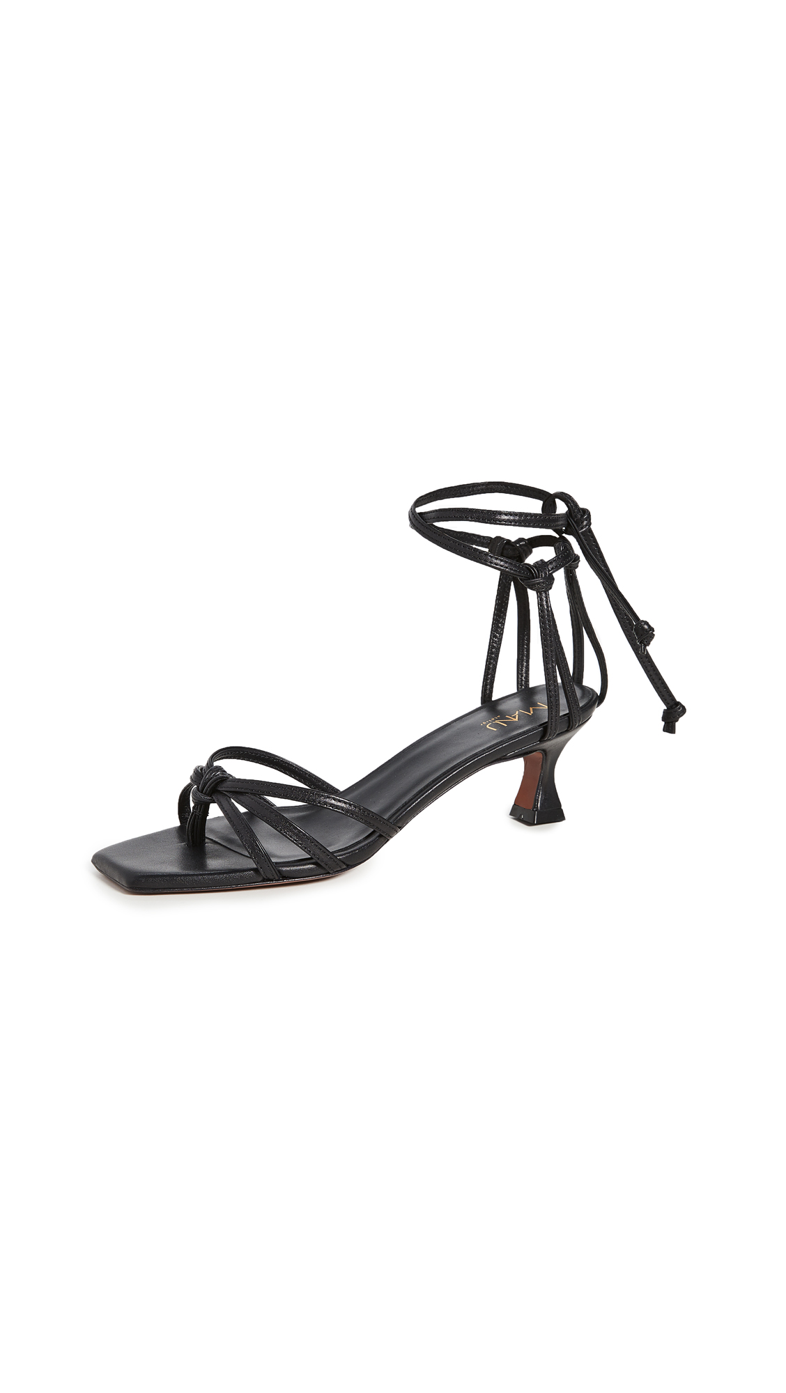 Buy MANU Atelier Lace Sandals online, shop MANU Atelier