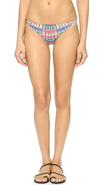 Mara Hoffman Flight Sand Side Strap Bikini Bottoms