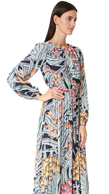 Mara Hoffman Deep Keyhole Dress