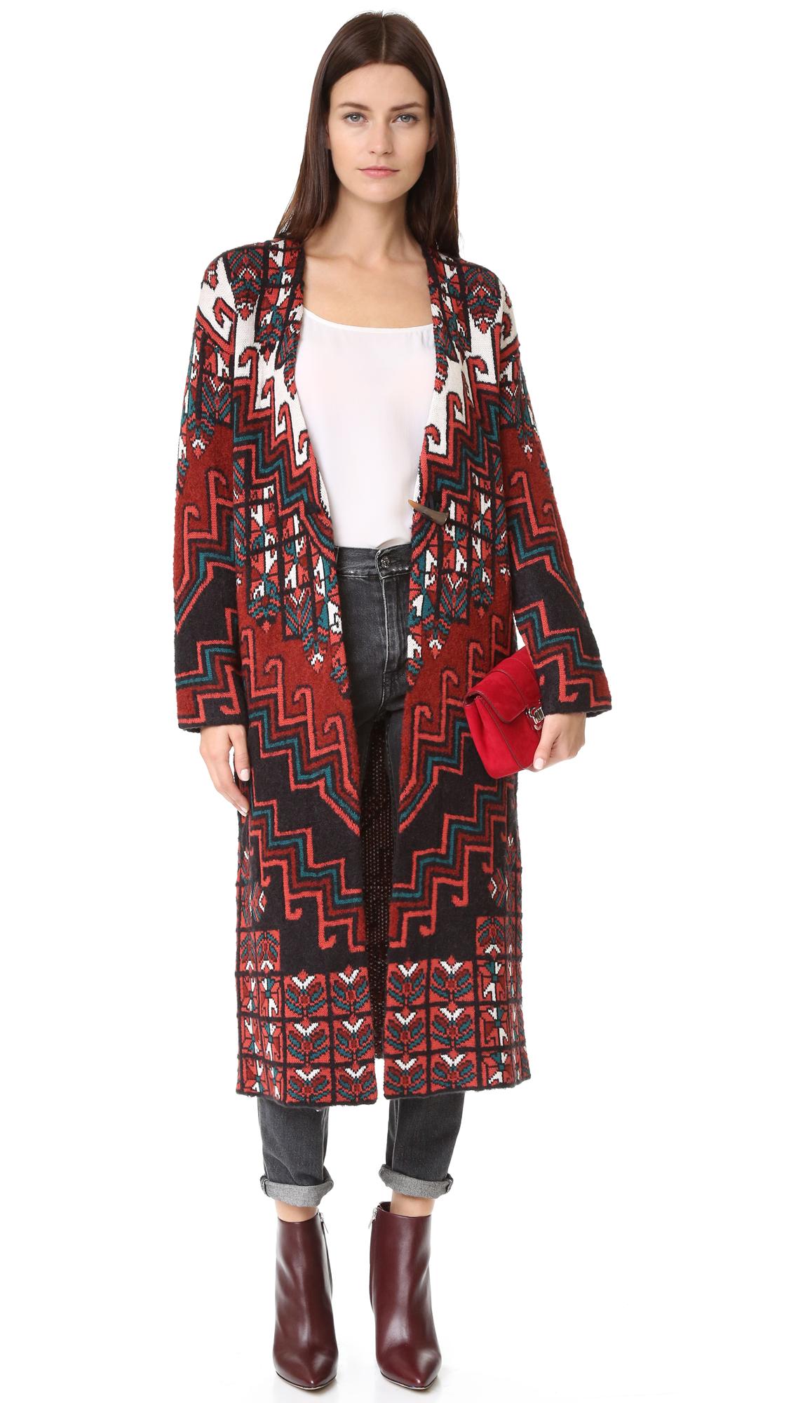 Mara Hoffman Bolnisi Rug Sweater Coat | SHOPBOP