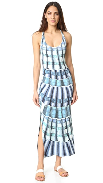 Mara Hoffman Racer Back Maxi Dress