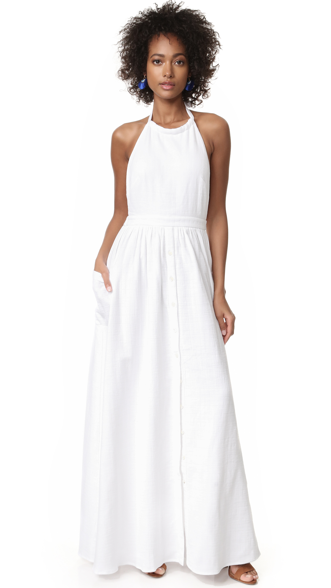Mara Hoffman Cotton Backless Dress  4ee182ae0