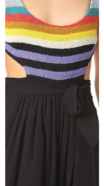 Mara Hoffman Crochet Tank Jumpsuit