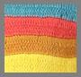 Crochet Rainbow Stripe