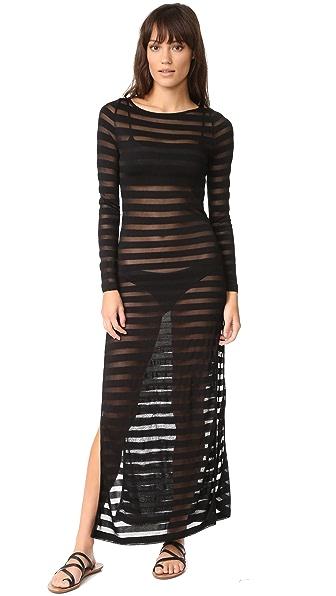 Mara Hoffman Side Slit Maxi Dress