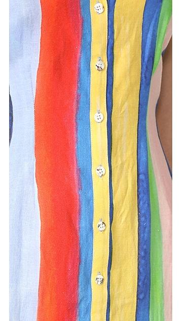 Mara Hoffman Sheath Midi Dress