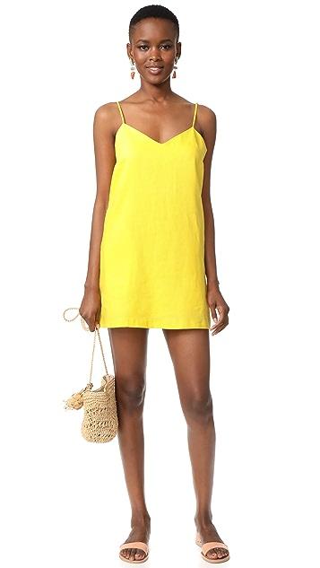 Mara Hoffman Spaghetti Strap Mini Dress