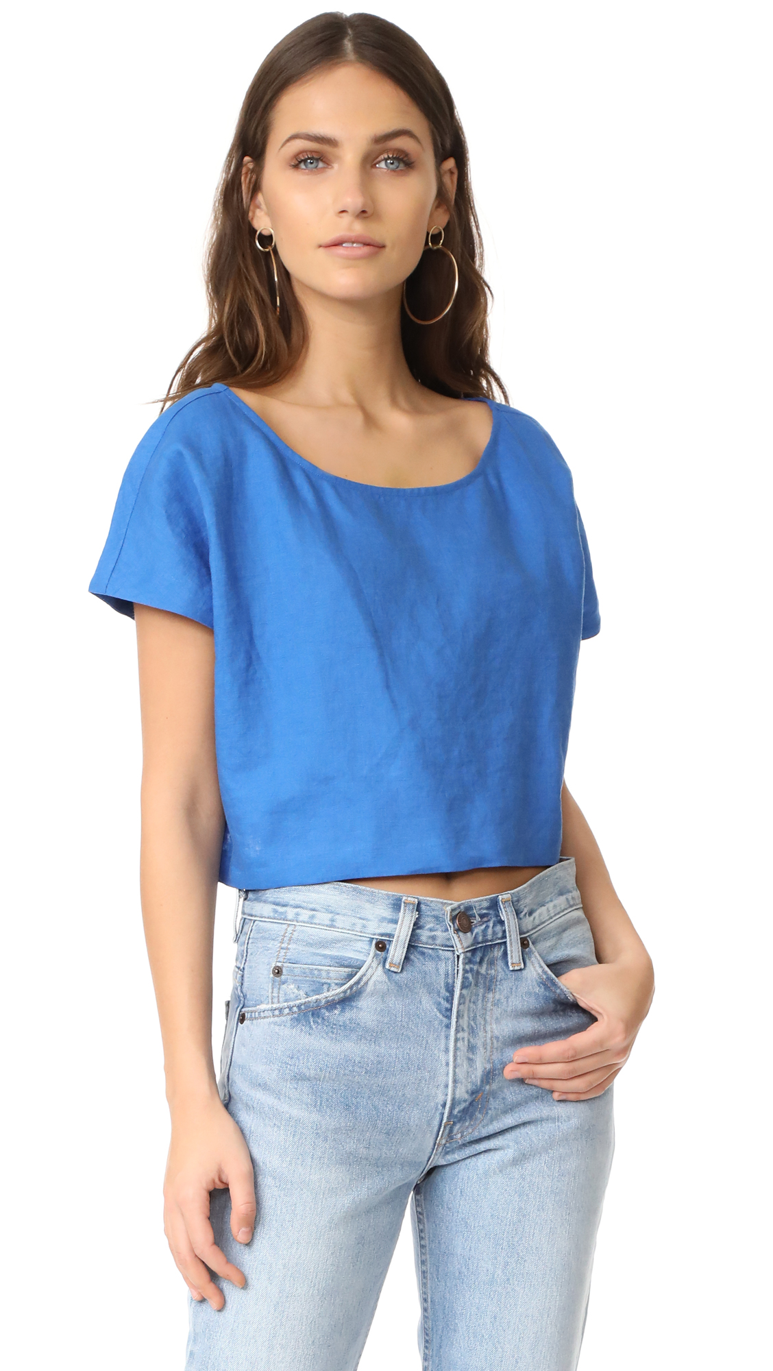 Mara Hoffman Easy Top - Cobalt