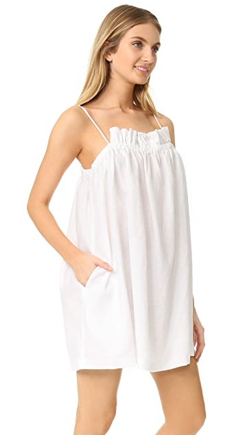 Mara Hoffman Gathered Mini Dress