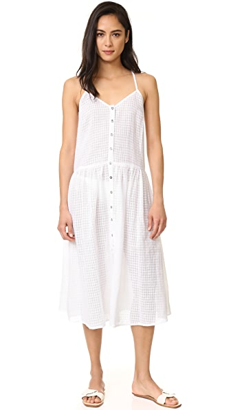 Mara Hoffman Midi Dress - White