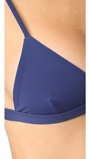 Mara Hoffman Triangle Bikini Top