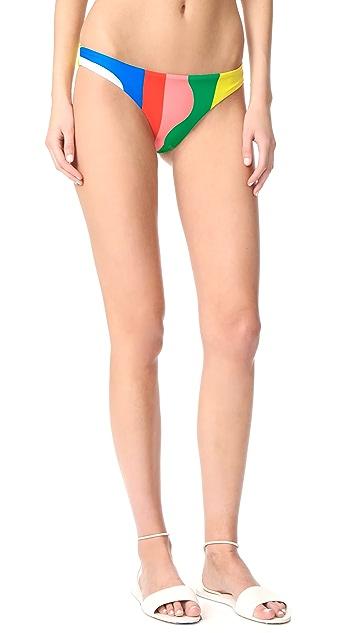 Mara Hoffman Beach Ball Bikini Bottoms