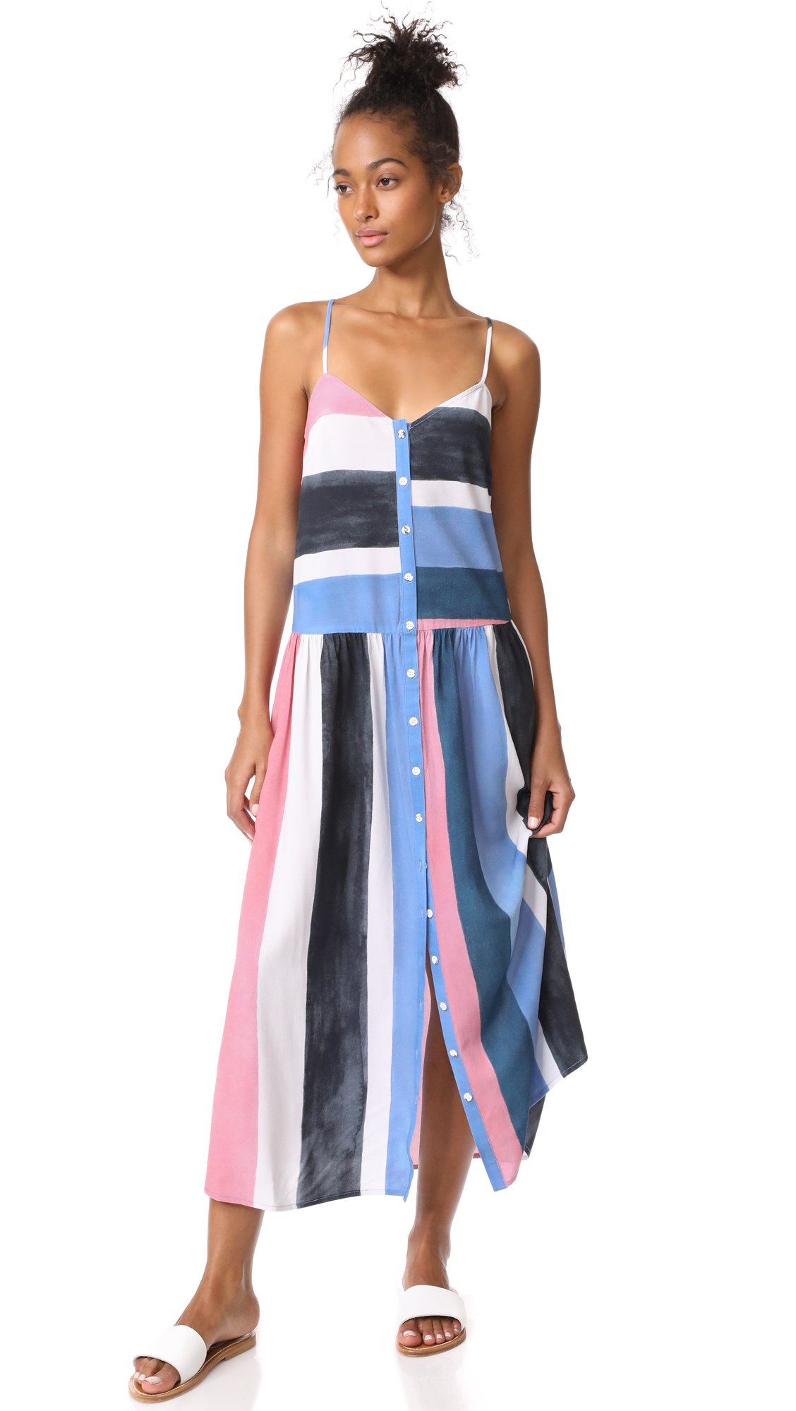 Mara Hoffman Phoebe Dress - Blue Multi